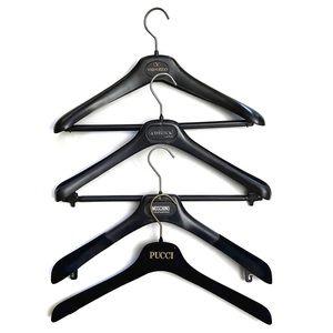 Versace Pucci Moschino Valentino Designer Hangers